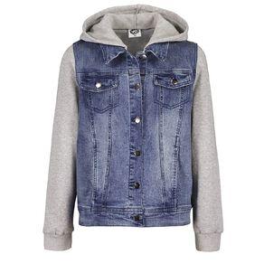 Young Original Contrast Denim Jacket