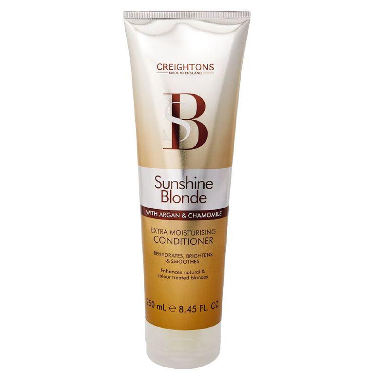 Creightons Sunshine Blonde Extra Moisturising Conditioner 250ml, , hi-res
