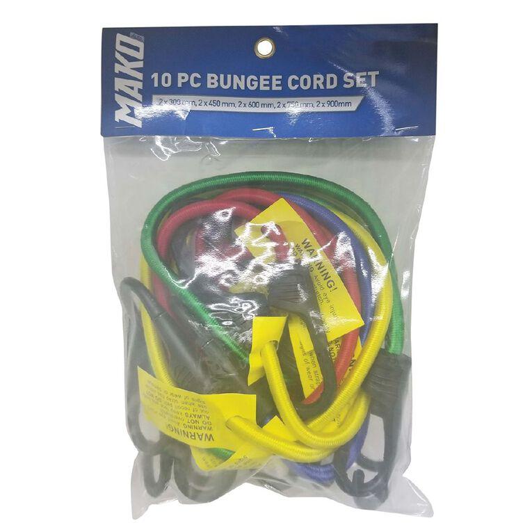 Mako Bungee Cord Set 10 Pack, , hi-res