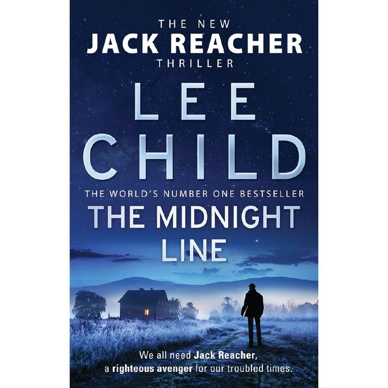 The Midnight Line by Lee Child, , hi-res