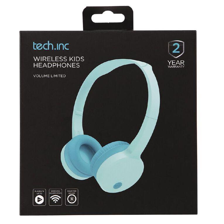 Tech.Inc Wireless Kids Headphone Volume Limited Green, , hi-res