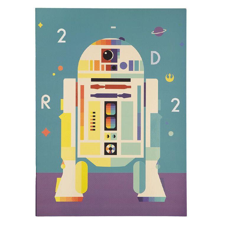 Star Wars Kids Scrapbook R2D2 Multi-Coloured 24cm X 33cm, , hi-res