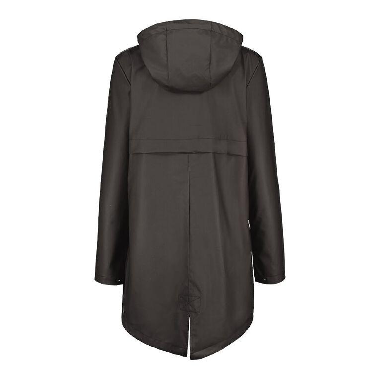 H&H Women's Parka Coat, Black, hi-res