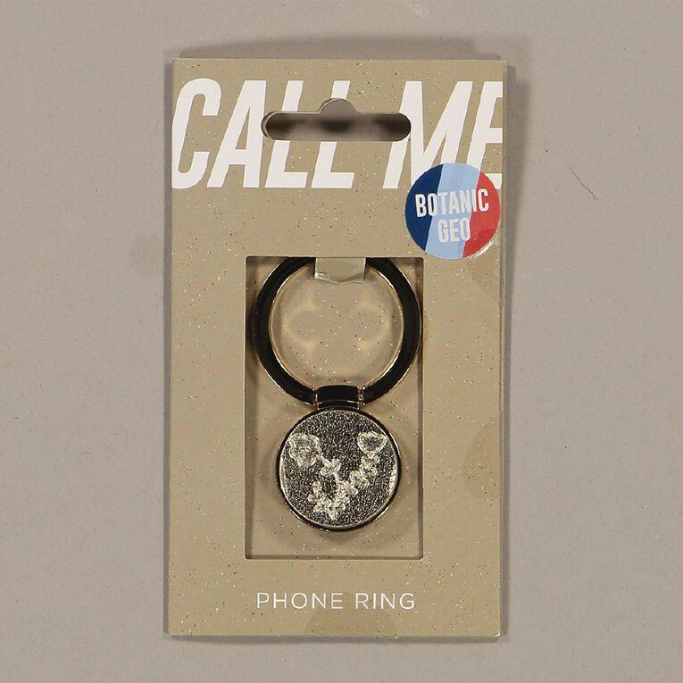 Botanic Geo Phone Ring Gold, , hi-res
