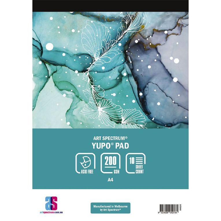 Art Spectrum Yupo Pad 200g 10 Sheets A4, , hi-res
