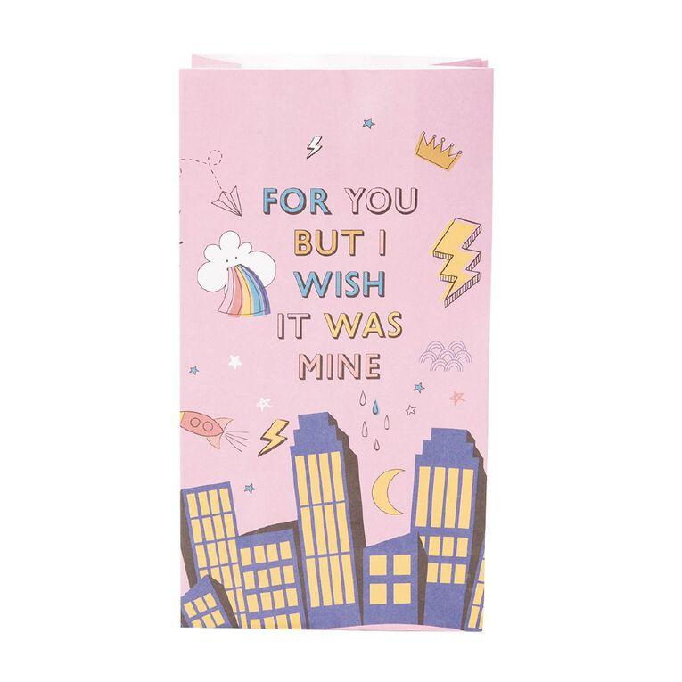 Party Inc Superhero Paper Loot Bags 12cm x 22cm x 7.3cm 8 Pack, , hi-res