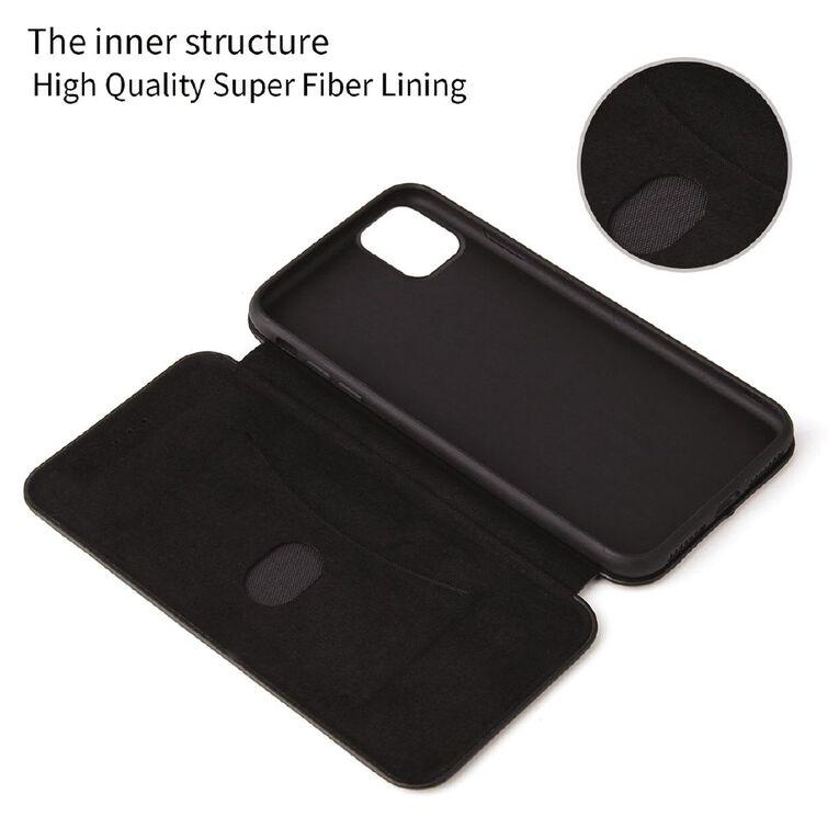 INTOUCH iPhone 12 Pro Milano Wallet Case Black, , hi-res