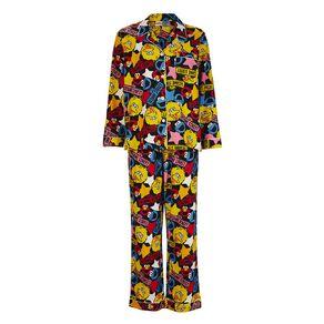 Sesame Street Women's Flannalette Pyjama Set