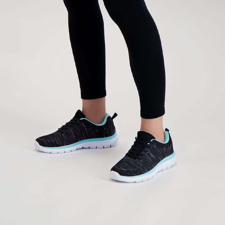 Active Intent Jog Shoes, Charcoal, hi-res
