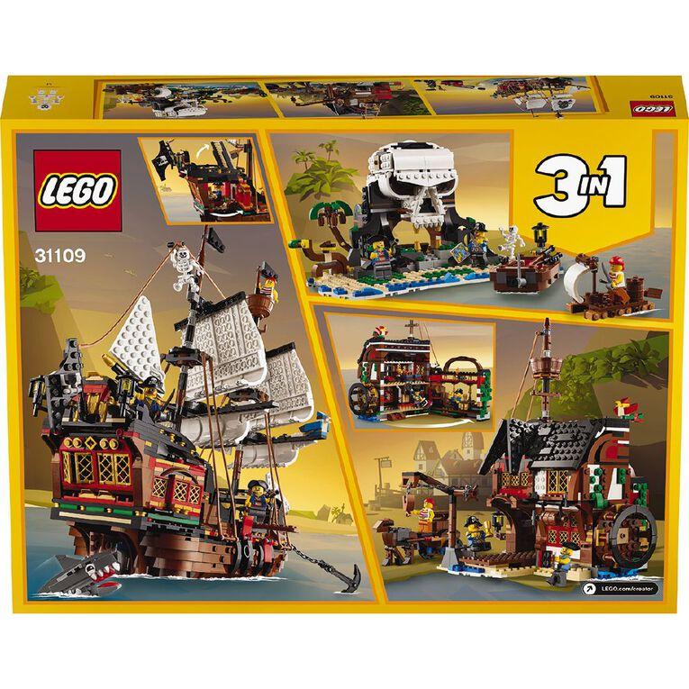 LEGO Creator Pirate Ship 31109, , hi-res