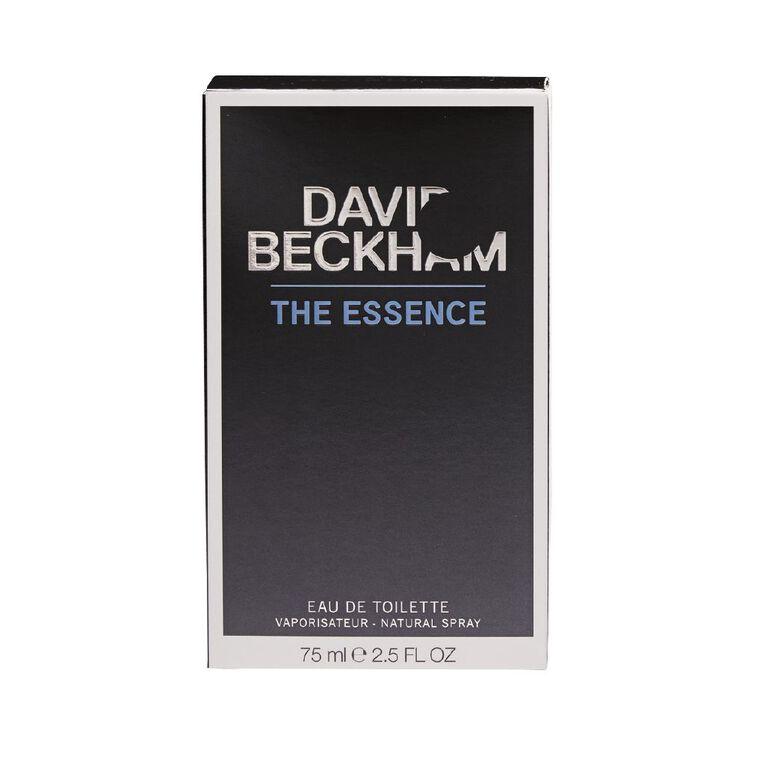 David Beckham The Essence EDT 75ml, , hi-res
