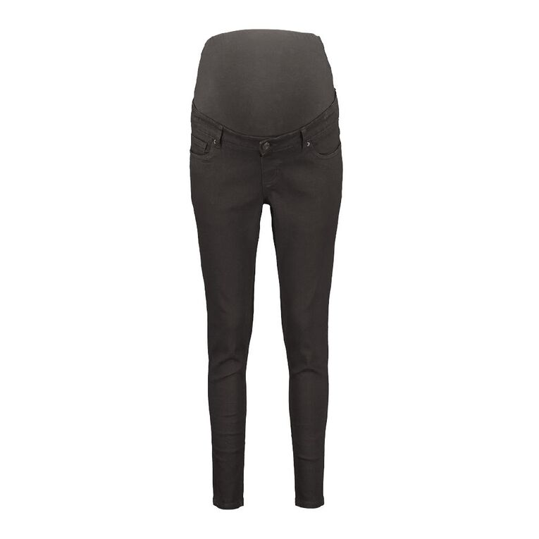 H&H Maternity Over Bump Jeans, Black, hi-res