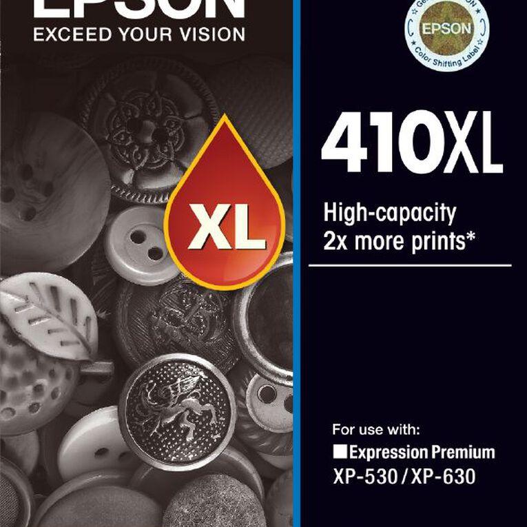 Epson Ink 410XL Black (530 Pages), , hi-res