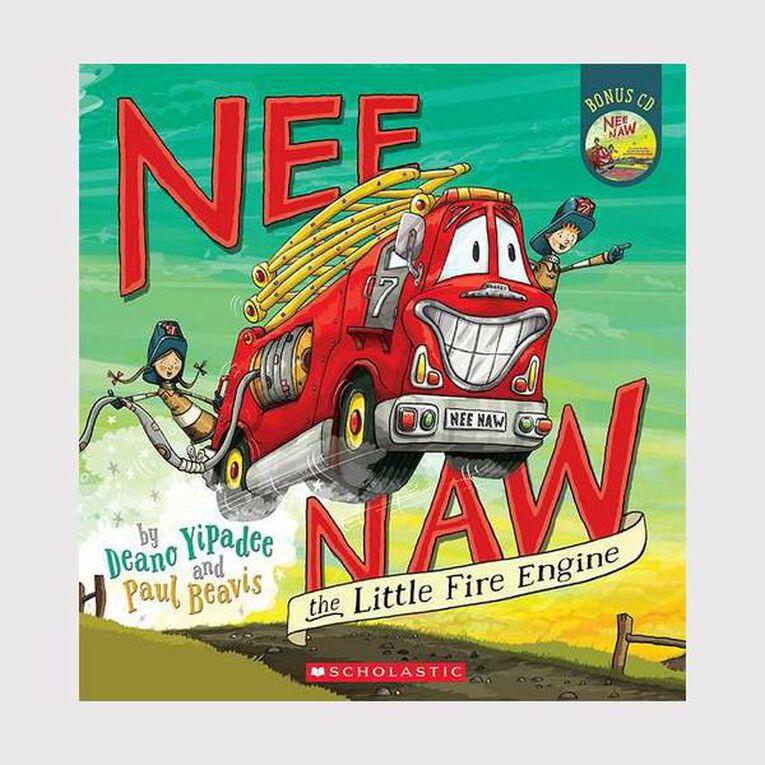 Nee Naw the Little Fire Engine by Deano Yipadee, , hi-res