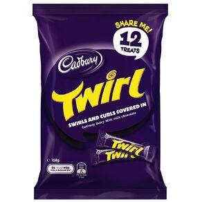 Cadbury Dairy Milk Twirl Sharepack 168g