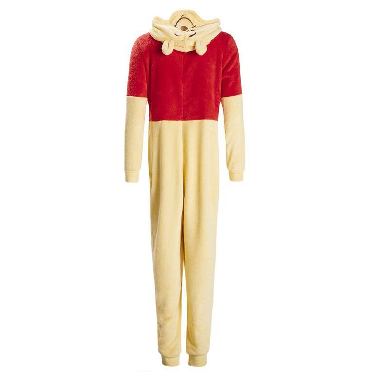 Disney Winnie The Pooh Women's Onesie, Yellow, hi-res