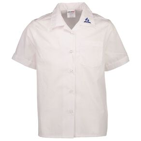 Schooltex SDA Short Sleeve Blouse with Embroidery