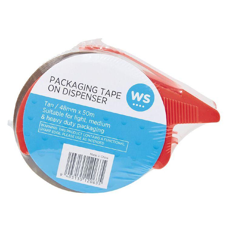 WS Packaging Tape On Dispenser 48mm x 50m, , hi-res