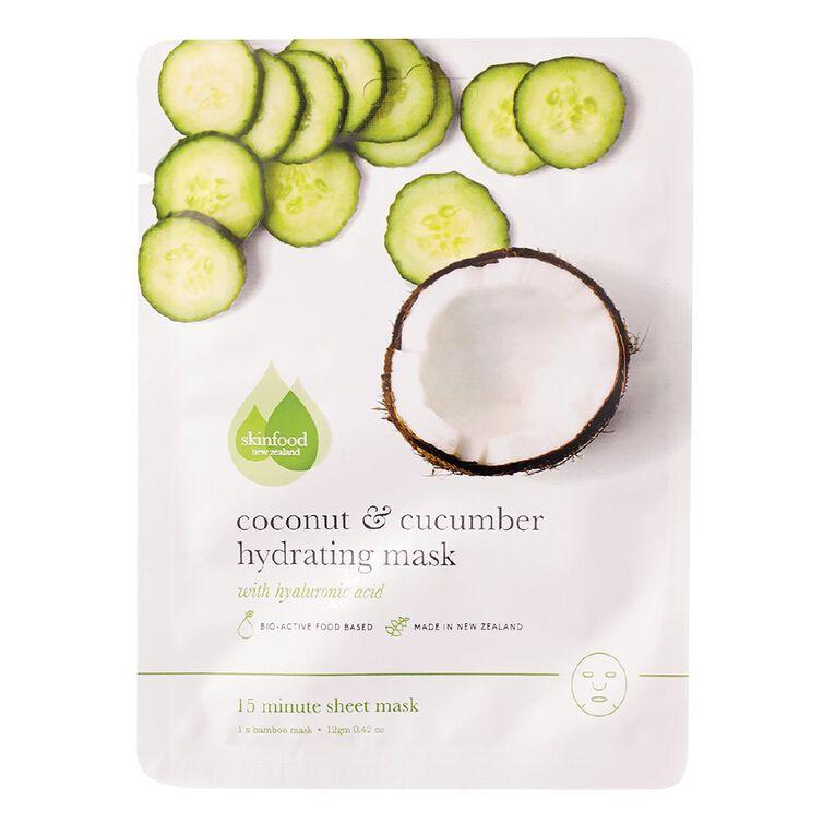 Skinfood Coconut & Cucumber Hydrating Sheet Mask, , hi-res