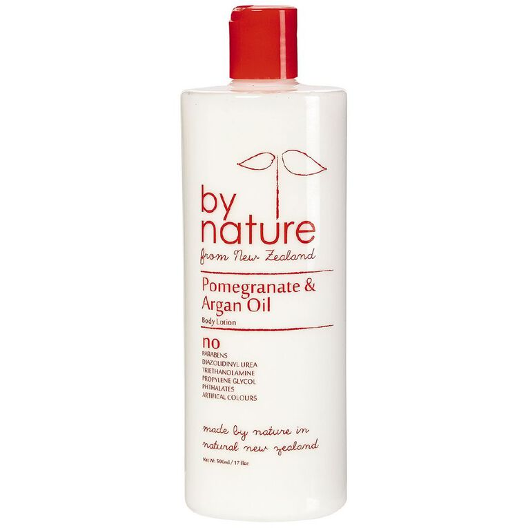 By Nature Pomegranate and Argan Oil Body Lotion 500ml, , hi-res