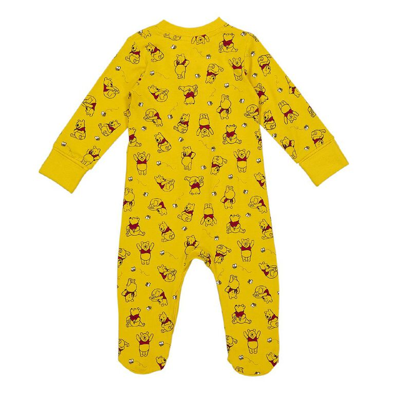 Winnie the Pooh 2 Way Zip All In One, Yellow Mid, hi-res