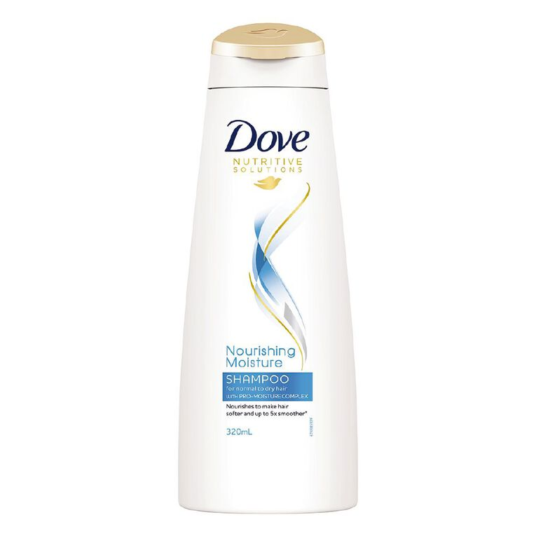 Dove Shampoo Daily Moisture 320ml, , hi-res