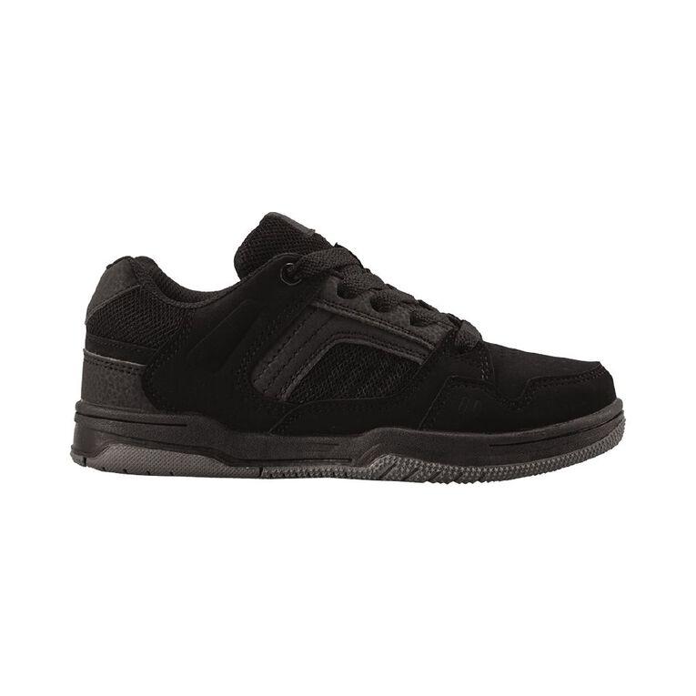 Young Original Kids' Hans Skate Shoes, Black, hi-res