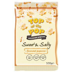 Top of the Pop Microwave Popcorn Sweet & Salty 100g