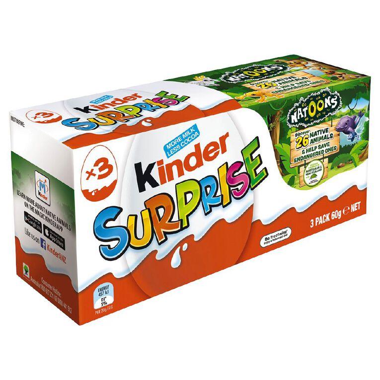 Kinder Surprise 3 Pack, , hi-res