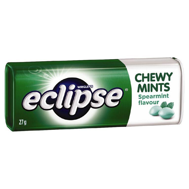 Eclipse Chewy Mints Spearmint Tin 27g, , hi-res