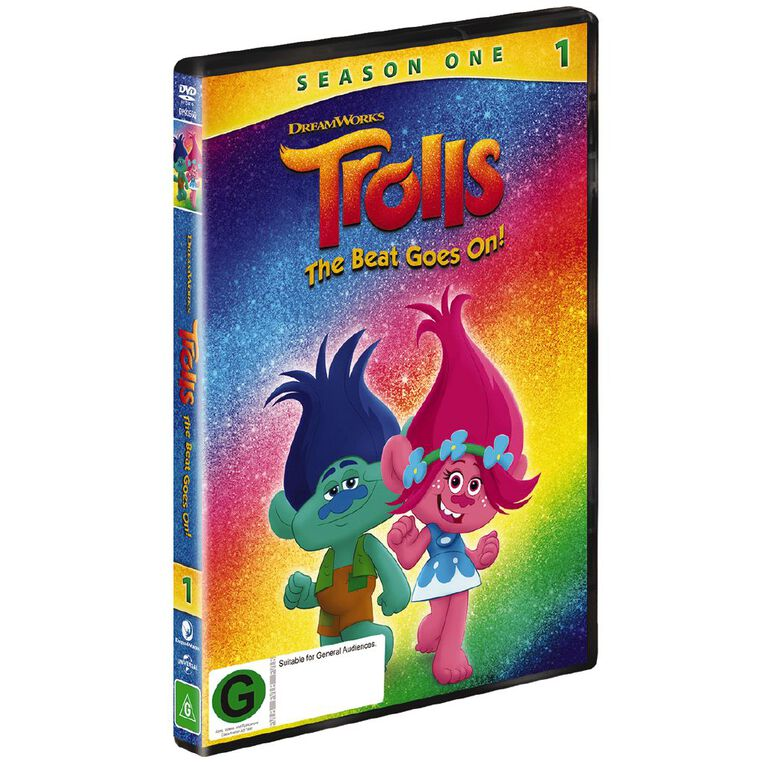 Trolls The Beat Goes On DVD 2Disc, , hi-res