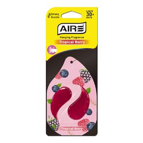Aromate Air Hanging Car Air Freshener Tropical Berry Scent