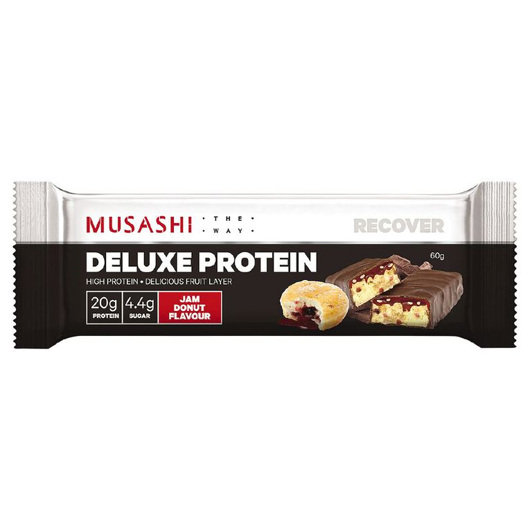 Musashi Deluxe High Protein Jam Donut, , hi-res