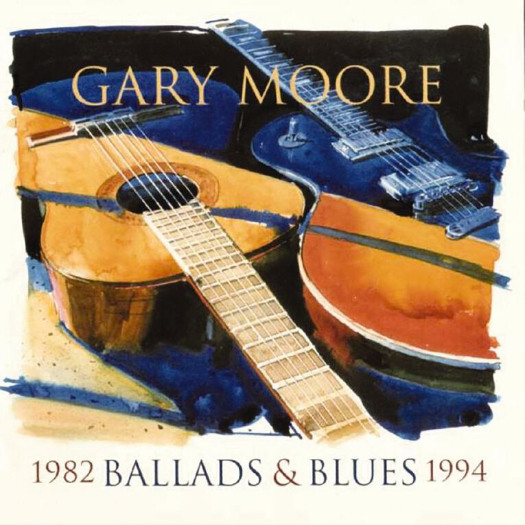 Ballads & Blues 1982-1994 CD by Gary Moore 1Disc, , hi-res