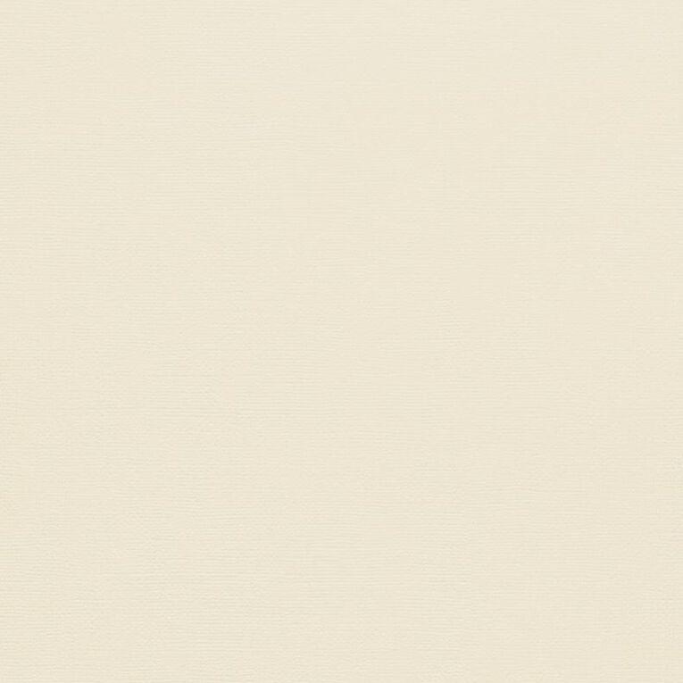 American Crafts Cardstock Textured Vanilla Yellow 12in x 12in, , hi-res
