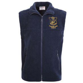 Schooltex Clendon Park  Polar Fleece Vest with Embroidery