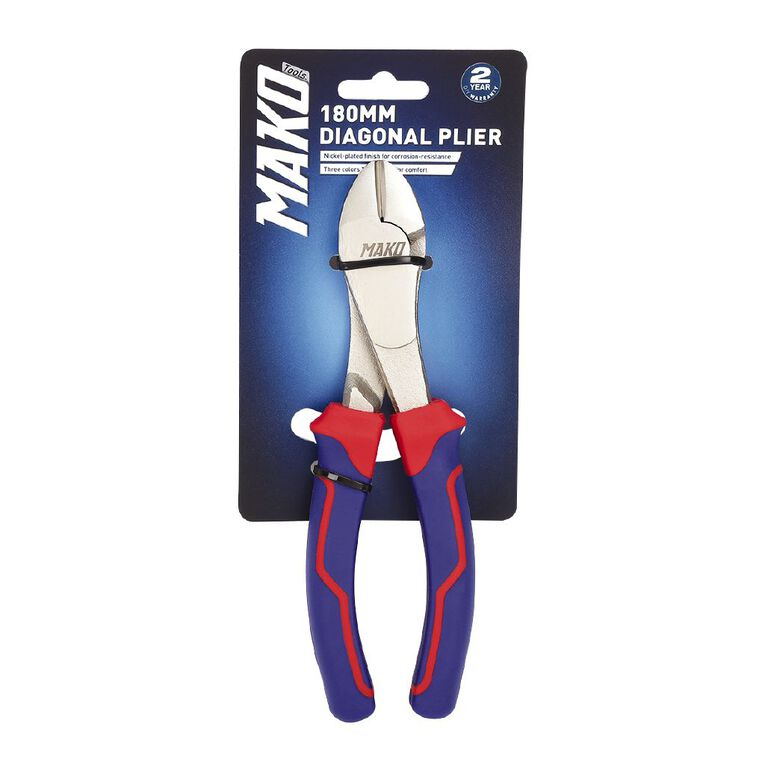 Mako Diagonal Plier 180mm, , hi-res