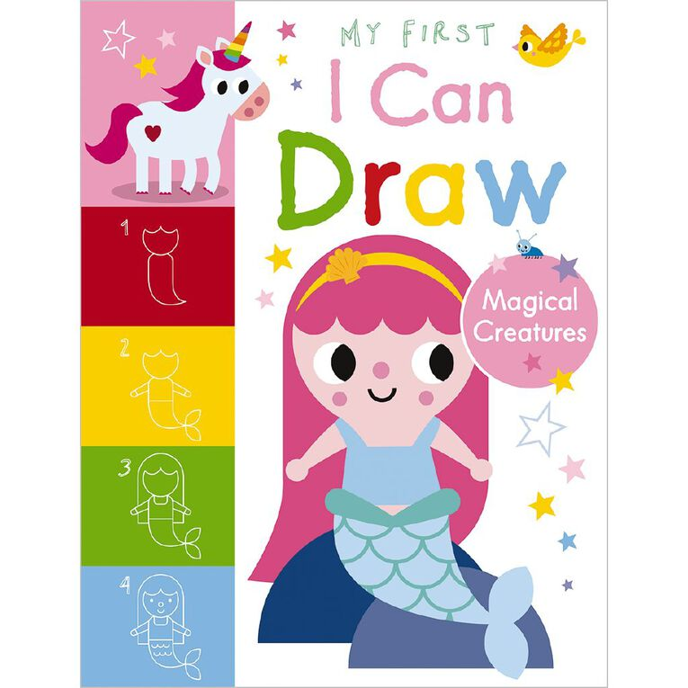My First I Can Draw Magical Creatures by Amy Boxshall, , hi-res