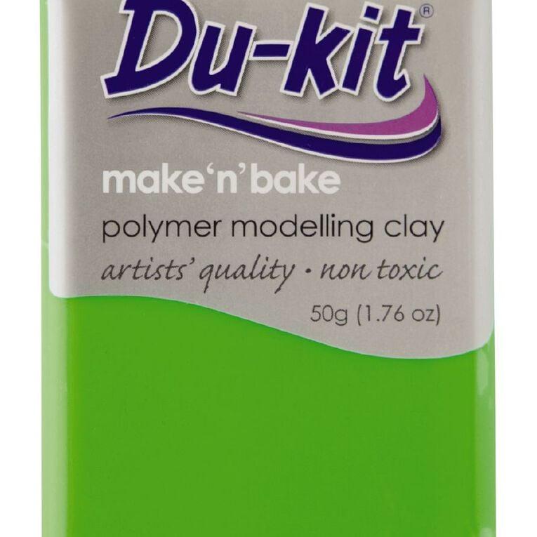 Du-kit Clay Fluoro Green 50g, , hi-res