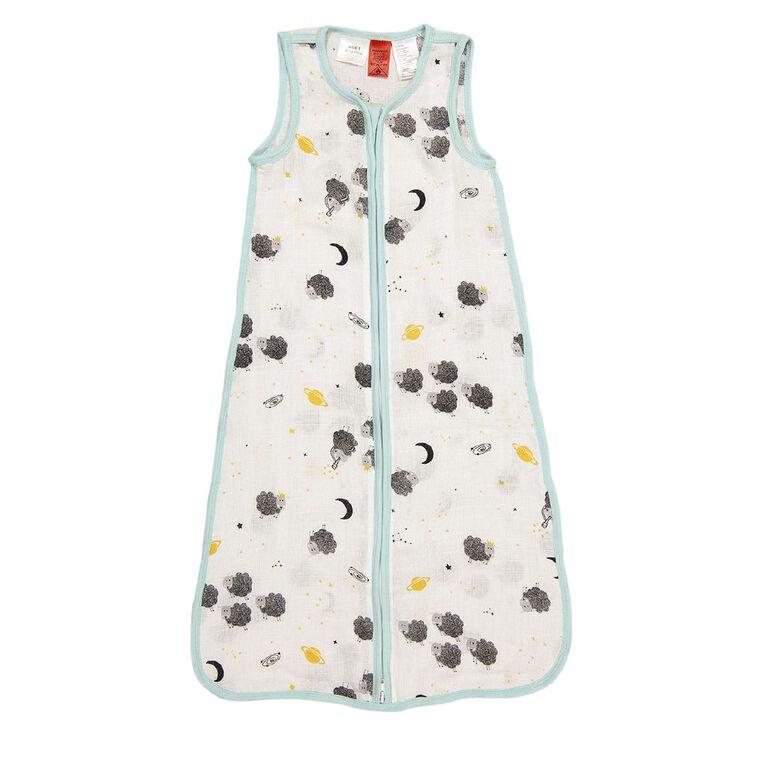 Babywise Sheep Muslin Sleeping Bag, , hi-res