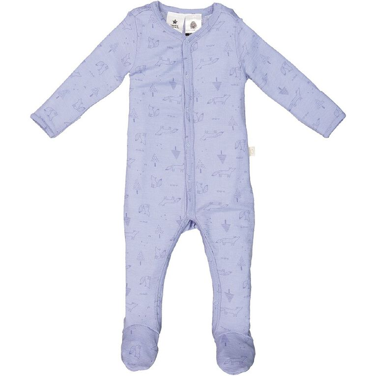 Young Original Baby Merino All In One, Blue Light, hi-res image number null