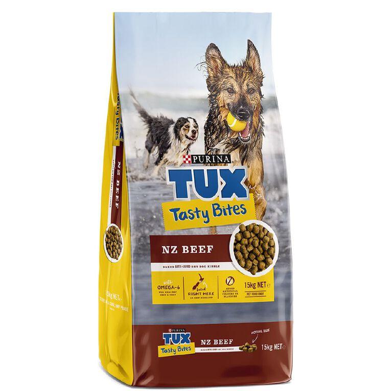 TUX Tasty Bites Beef 15kg, , hi-res