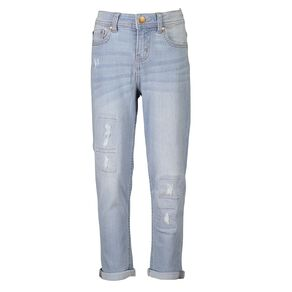Young Original Girls' Distressed BF Jeans