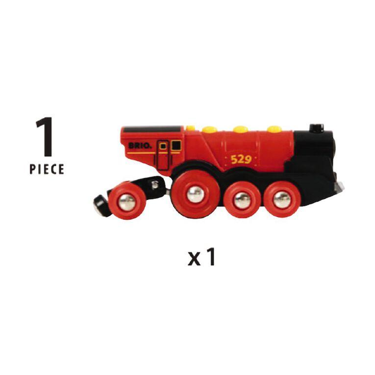 Brio Mighty Red Action Locomotive, , hi-res