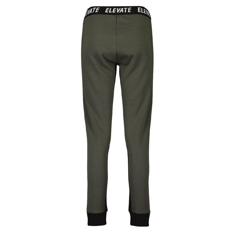 Active Intent Women's Slim Sport Trackpants, Green Dark, hi-res