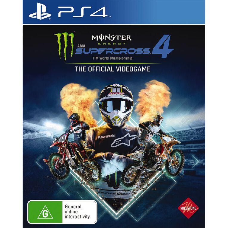 PS4 Monster Energy Supercross 4, , hi-res