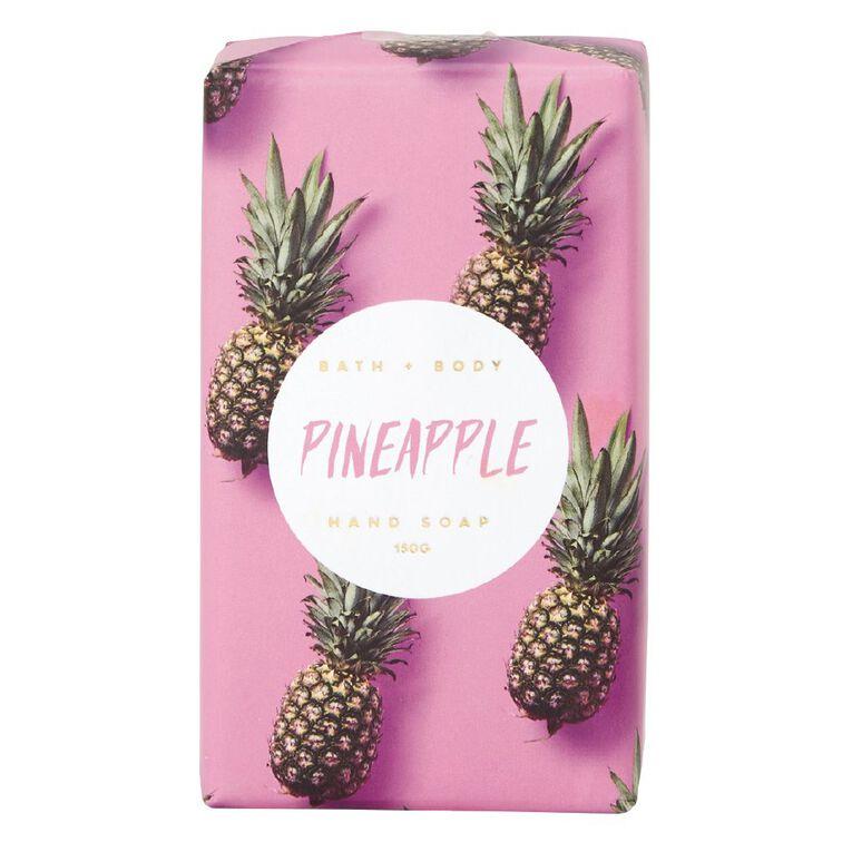 Soap Bar Pineapple Scented 150g, , hi-res