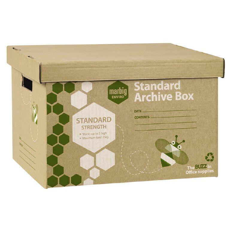 Marbig Standard Archive Box 5 Pack, , hi-res