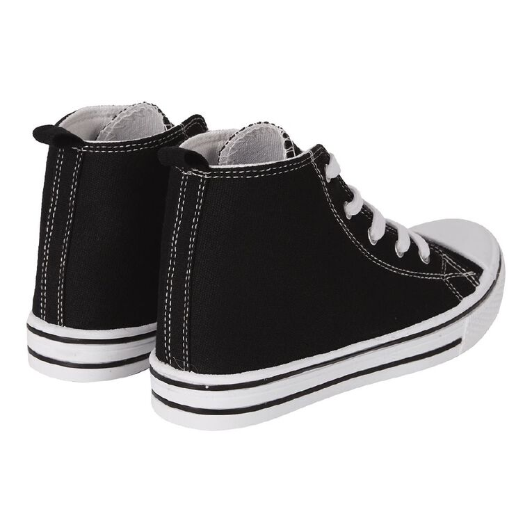 Young Original Finn2 Hi Shoes, Black WHT W21), hi-res