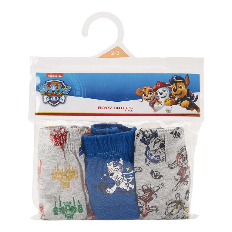 Paw Patrol Boy's Briefs 3 Pack, Green, hi-res image number null